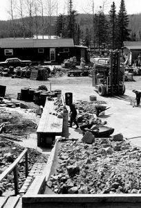 Amethyst Mine Panorama History