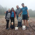 FAMILY FEE DIGGING AMETHYST MINE PANORMA