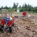 Amethyst Digging Crystals