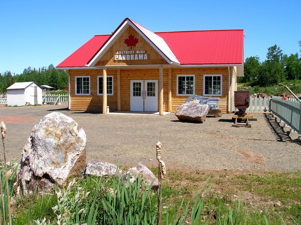AMETHYST MINE PANORAMA THUNDER BAY ONTARIO